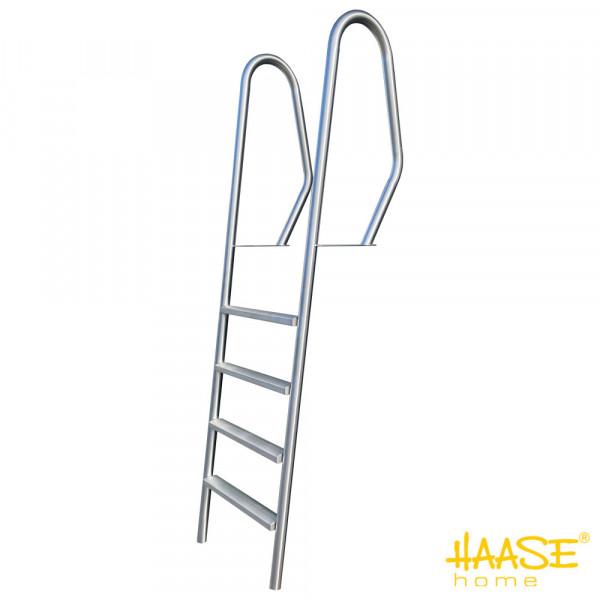 4-stufige Stegleiter Form A mit strukturierten Stufen